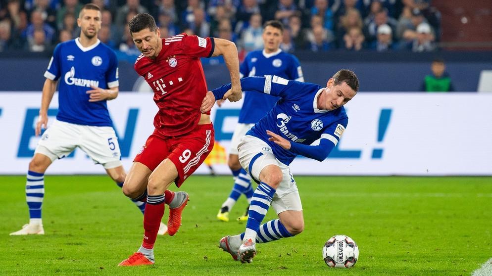 FC Schalke 04 - Bayern München | Bild:dpa-Bildfunk/Guido Kirchner