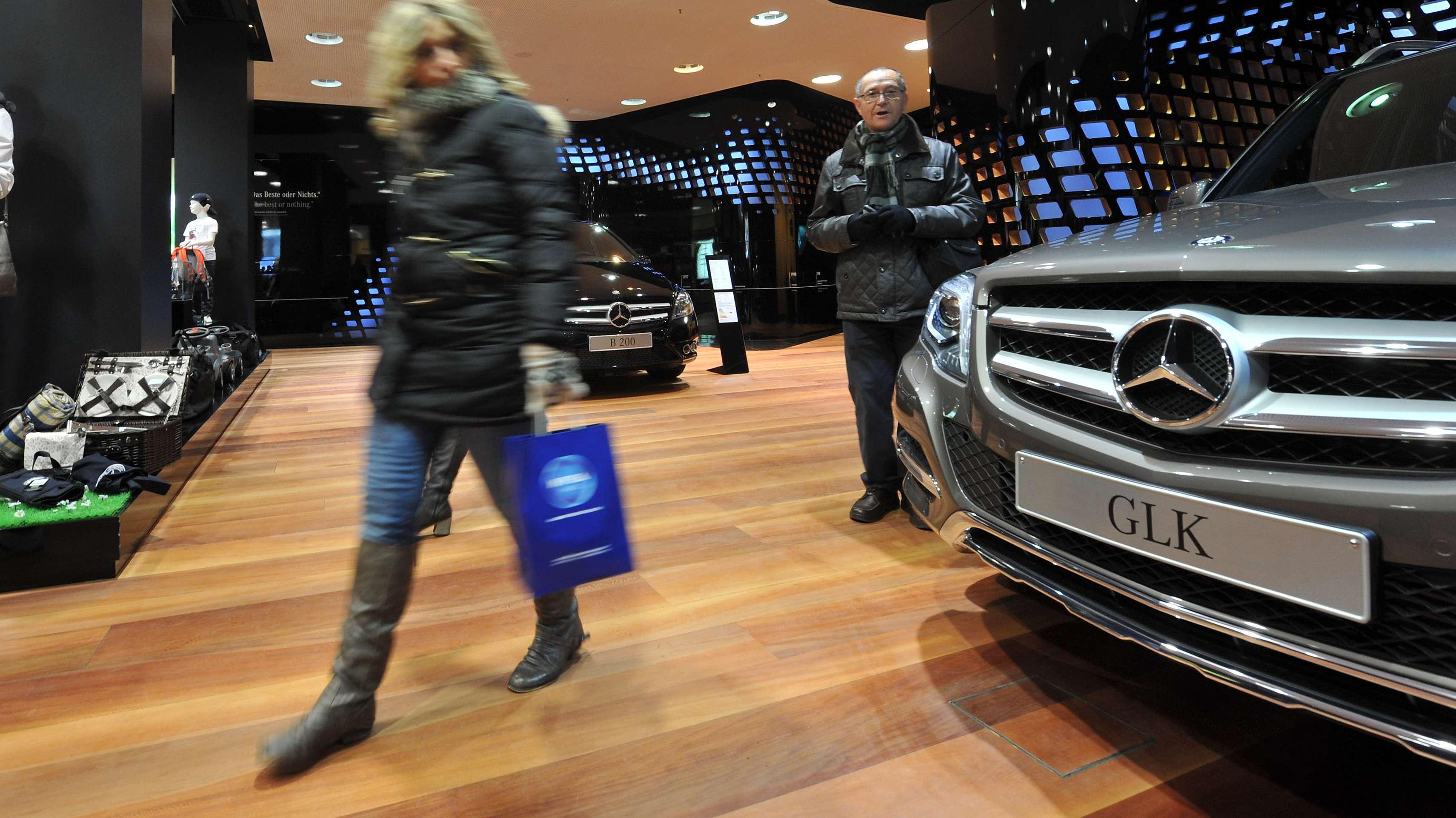 Mercedes GLK 220 CDI (Symbolbild)
