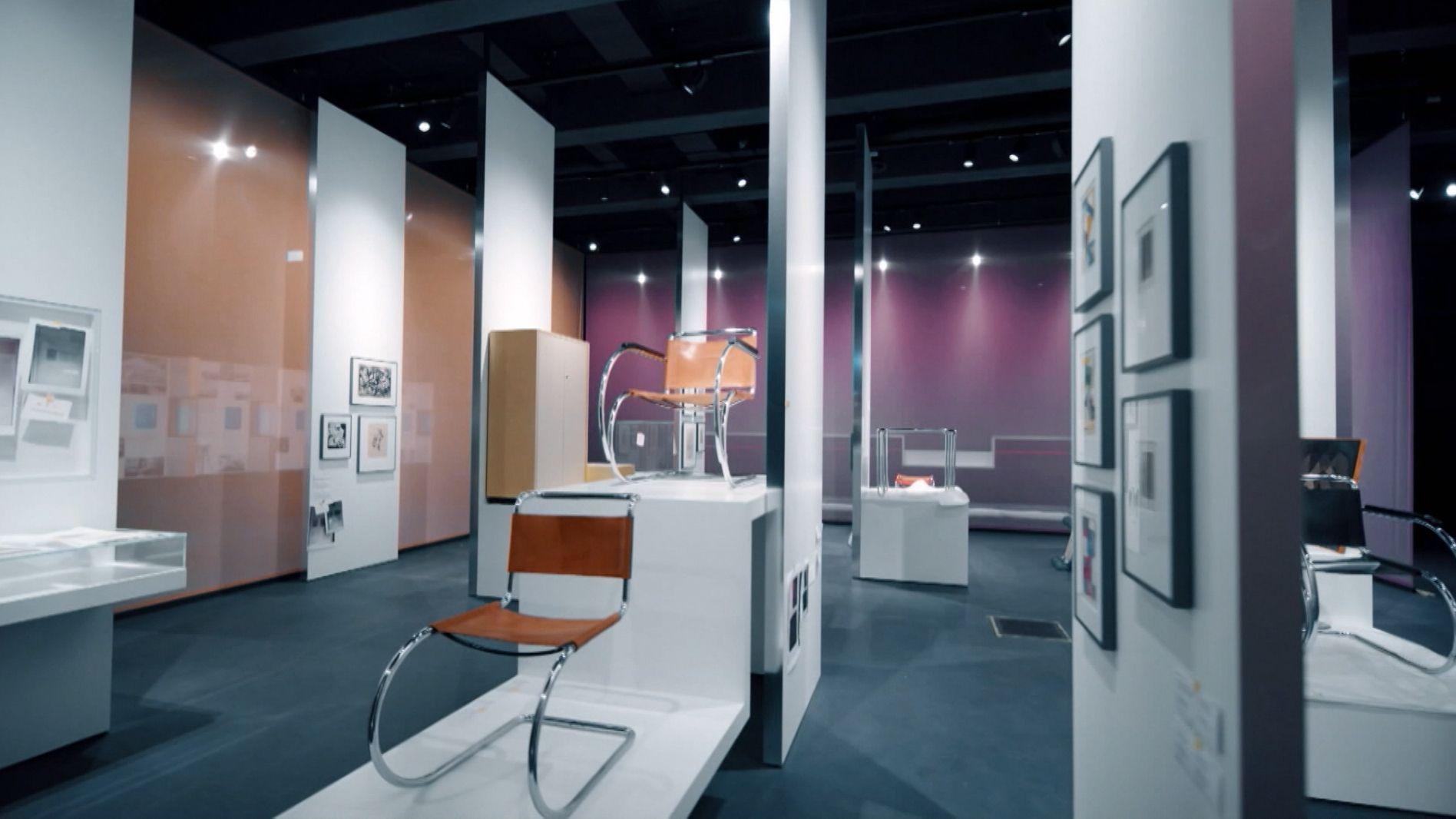 Eröffnung des Bauhaus-Museums in Dessau