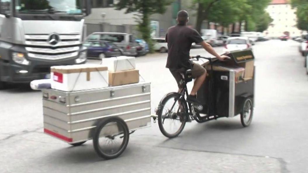 50 zusätzliche Lastenräder auf Würzburgs Straßen unterwegs