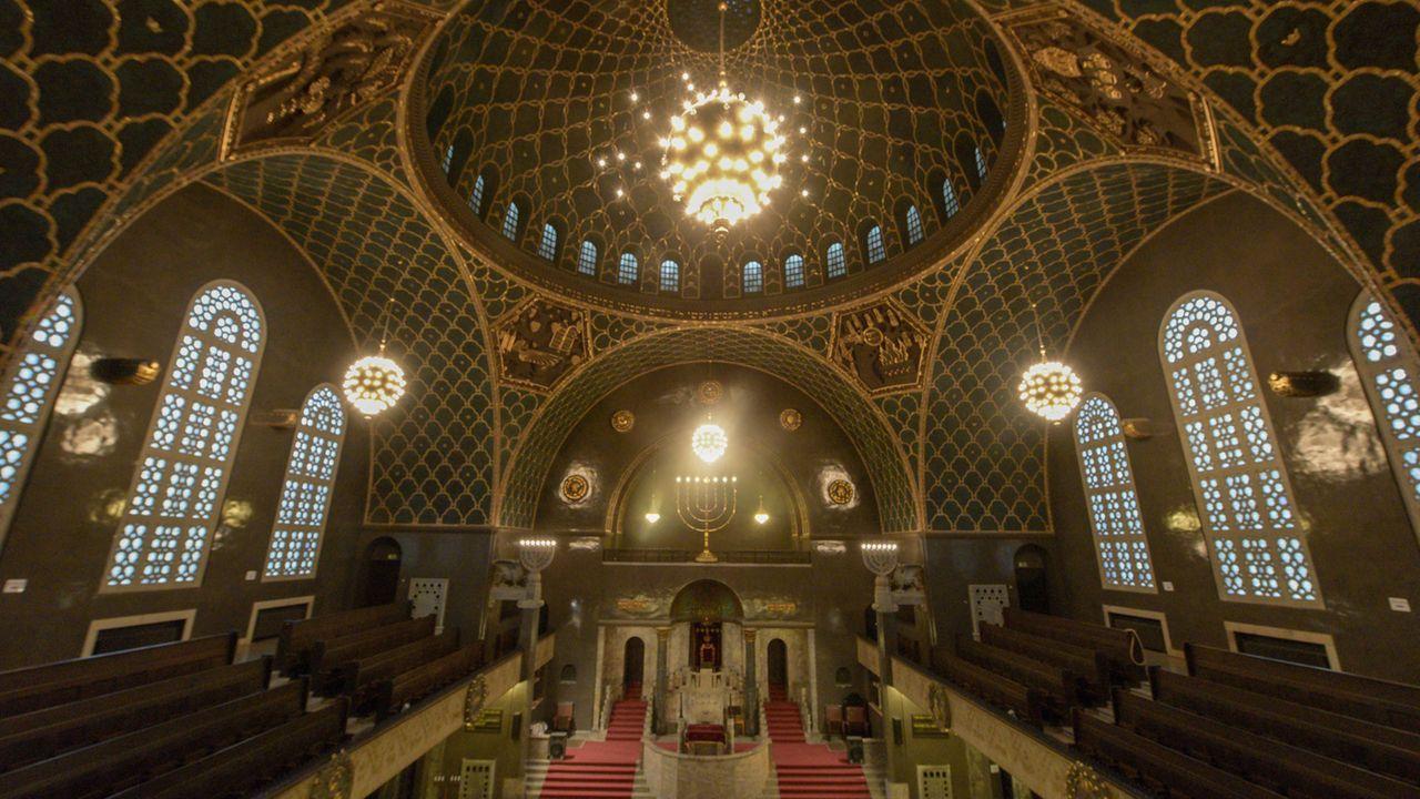 Innenansicht der Synagoge Augsburg