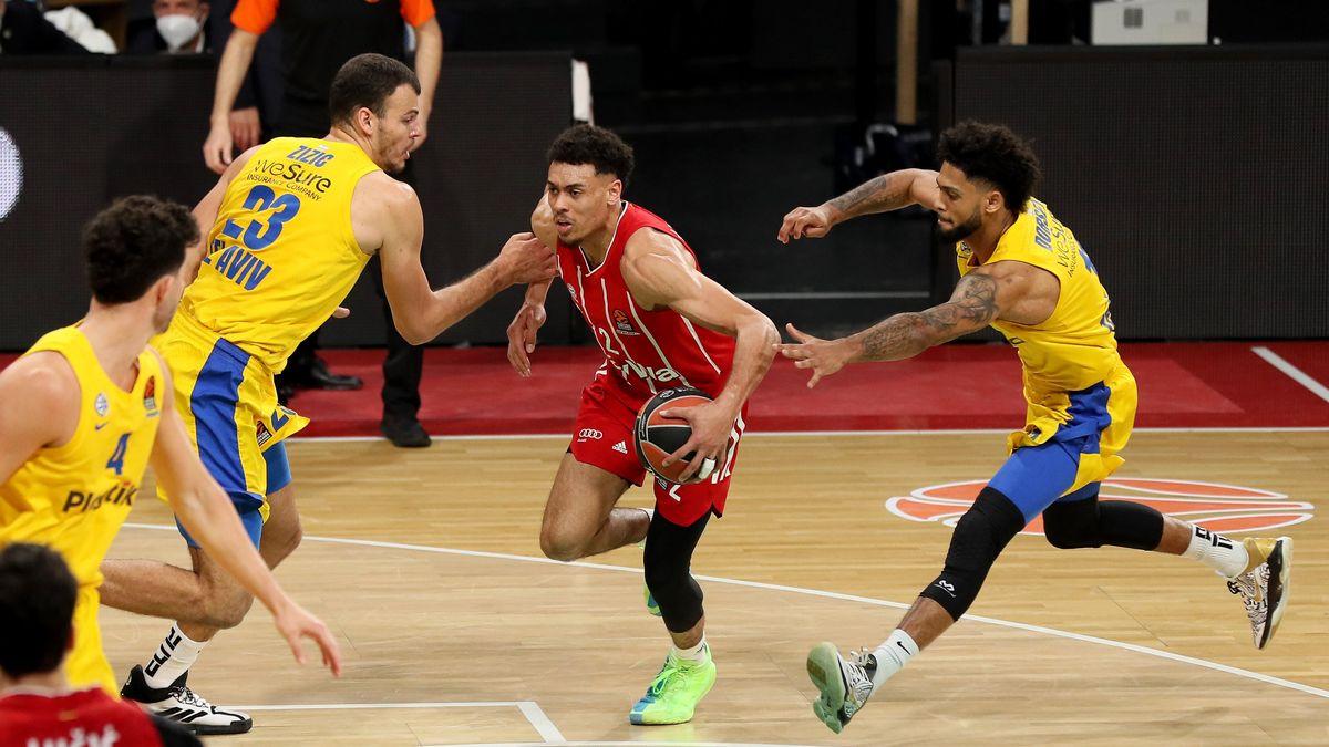 Euroleague-Spielszene FC Bayern Basketball - Maccabi Tel Aviv