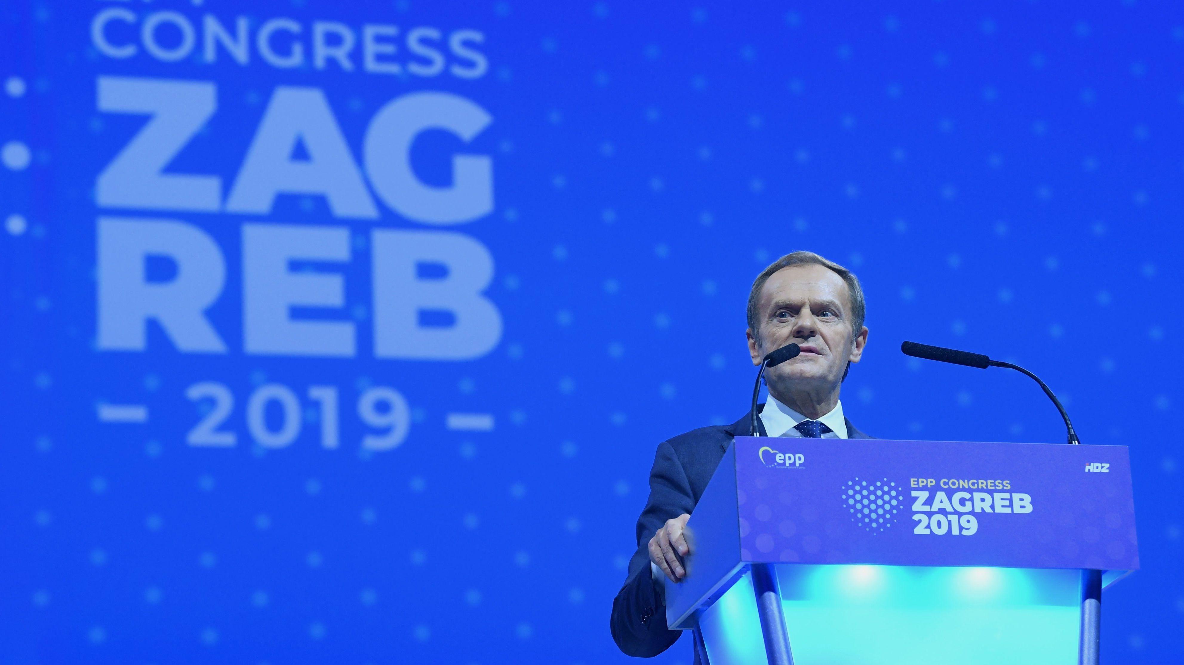 Donald Tusk, EVP-Präsident