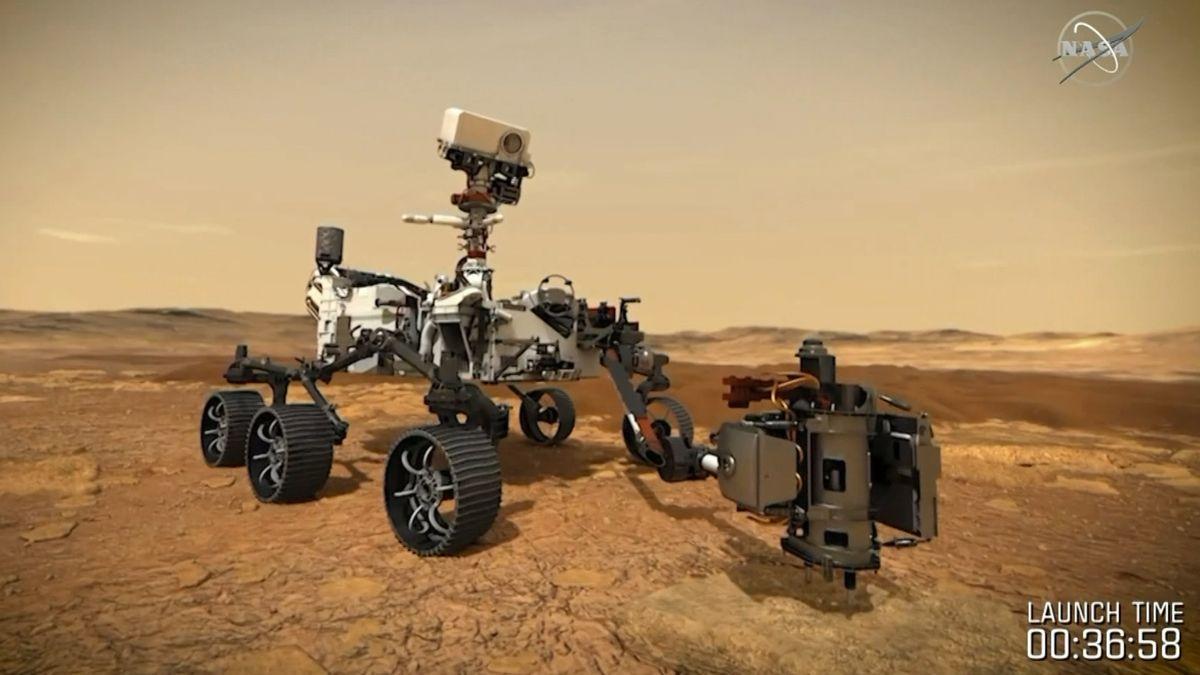 Der Mars-Rover der NASA