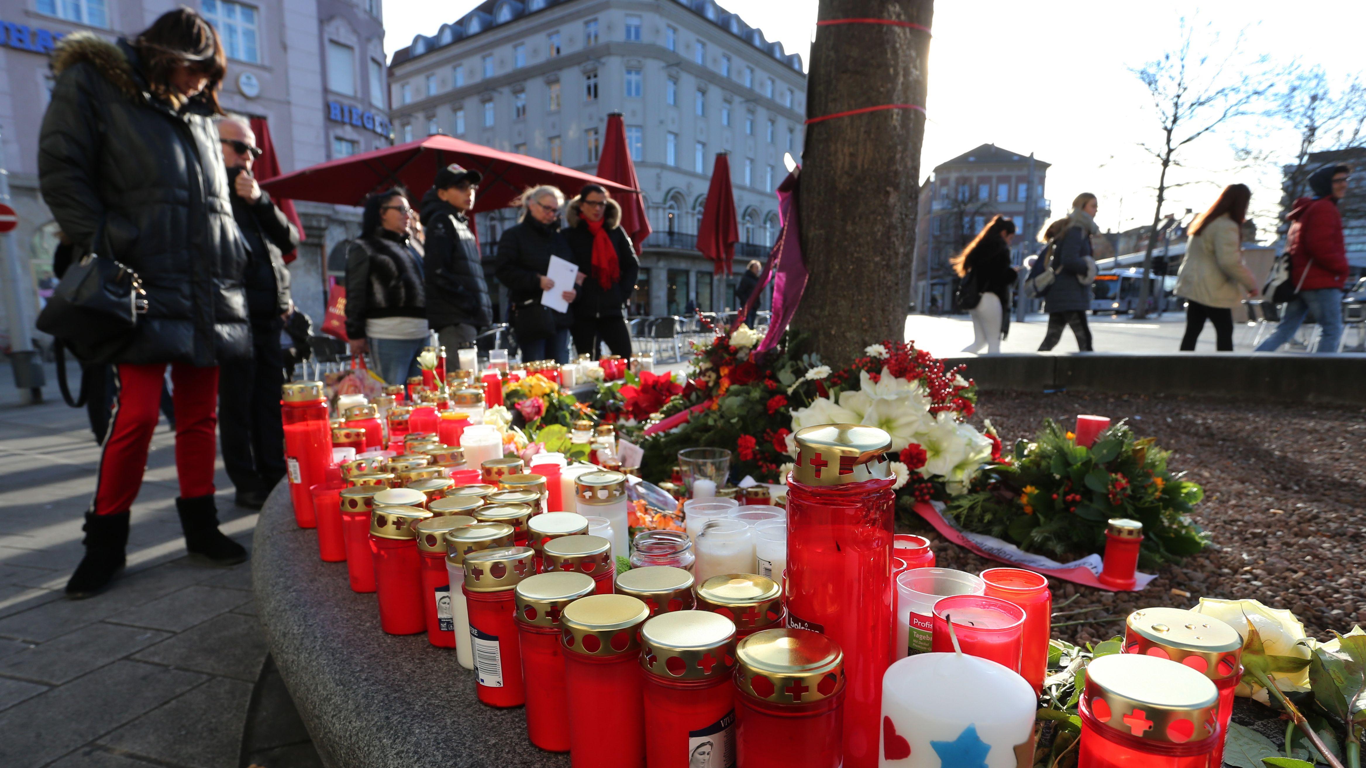 Trauer in Augsburg