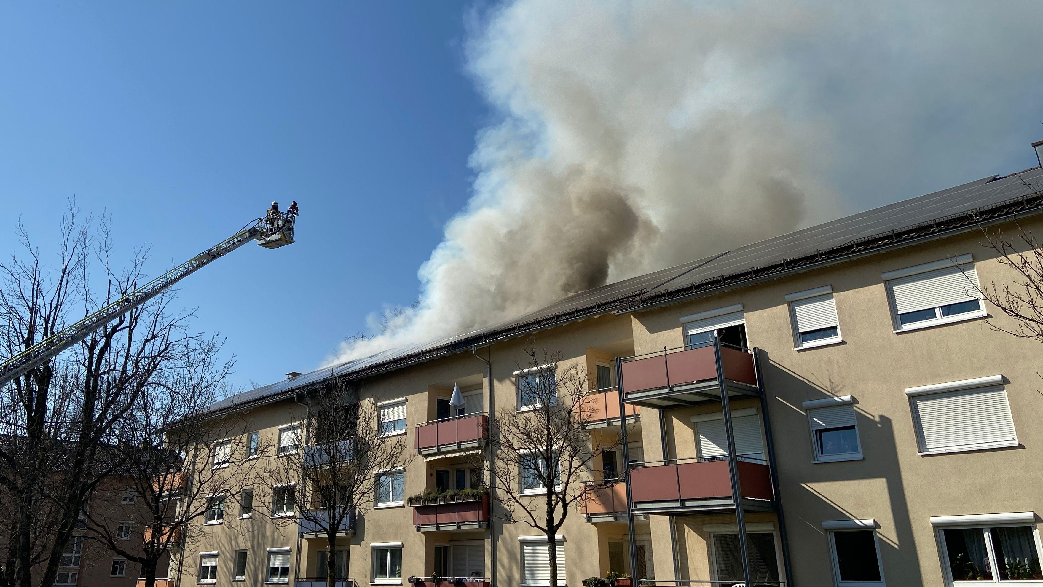 Brand in Mehrfamilienhaus in Lindau