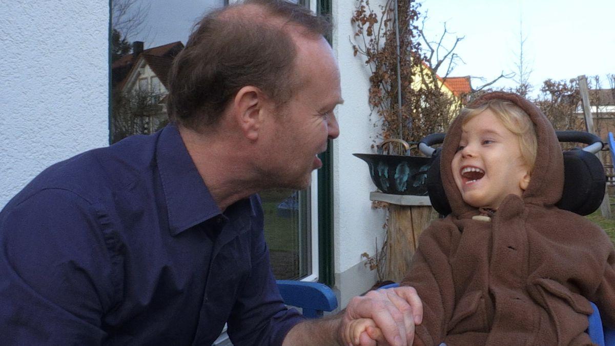 Vater Thomas Lechleuthner mit Korbinian