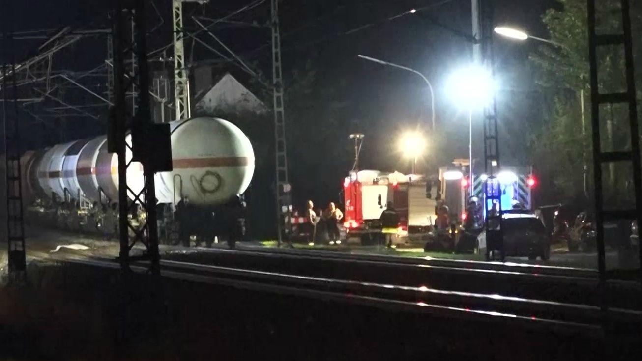 Beim traditionellen Kronacher Freischießen ist ein junger Mann direkt neben dem Festgelände von einem Güterzug erfasst und getötet worden.