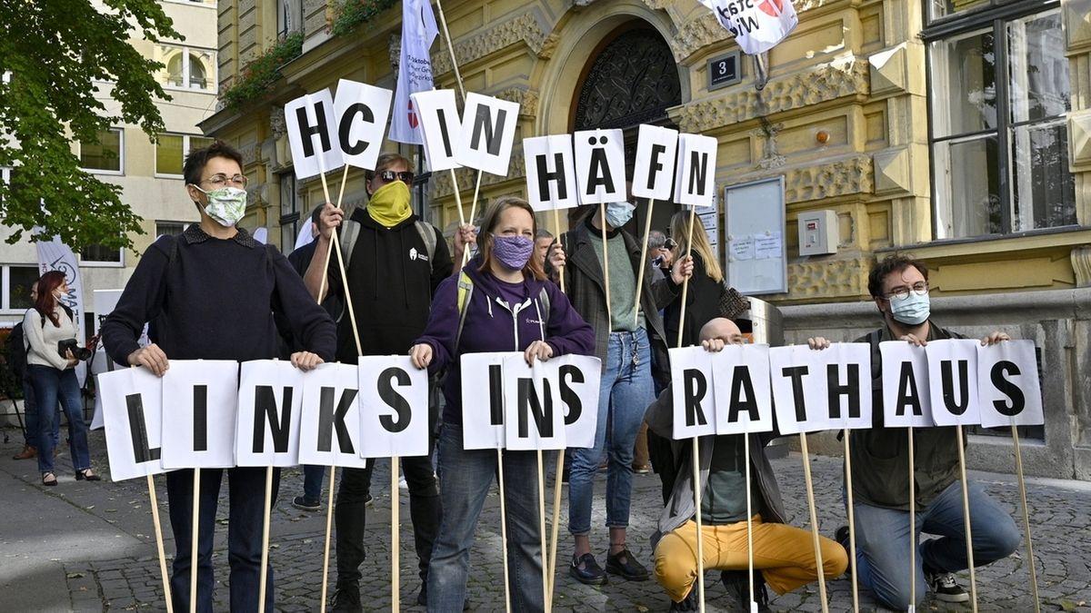 Vor der Landtagswahl in Wien.