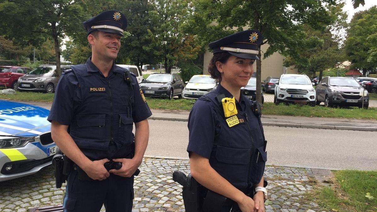 Bodycam im Präsidium Schwaben Süd/West