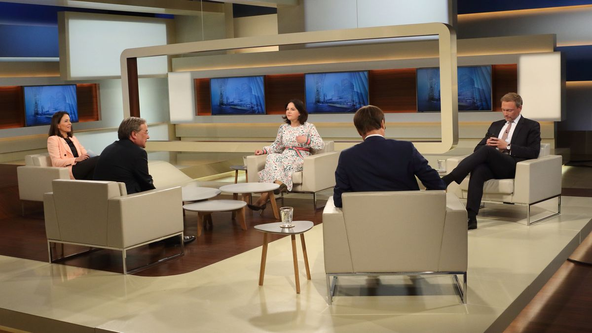 """Die ARD-Talksendung """"Anne Will""""."""