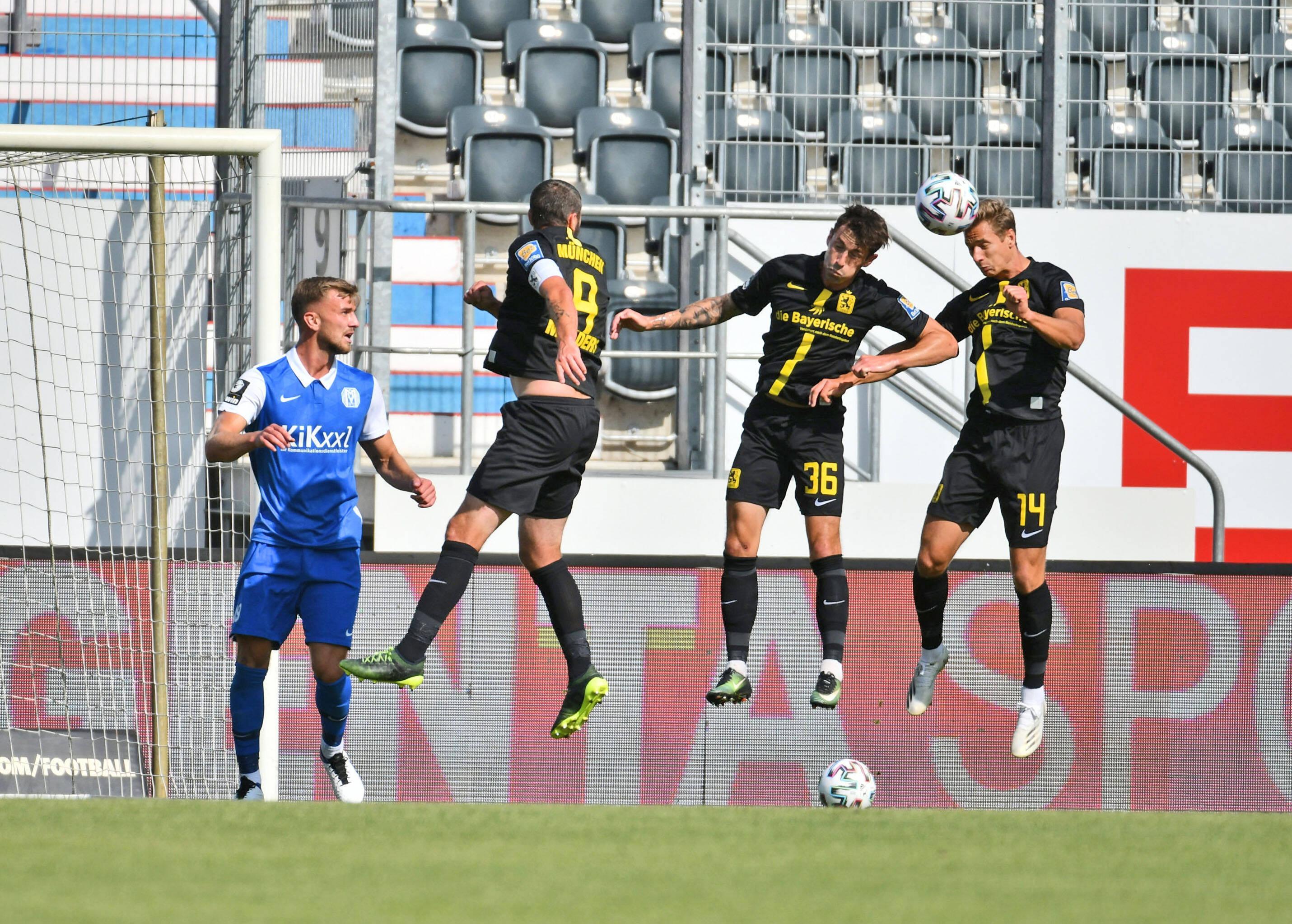 Spielszene SV Meppen - TSV 1860 München