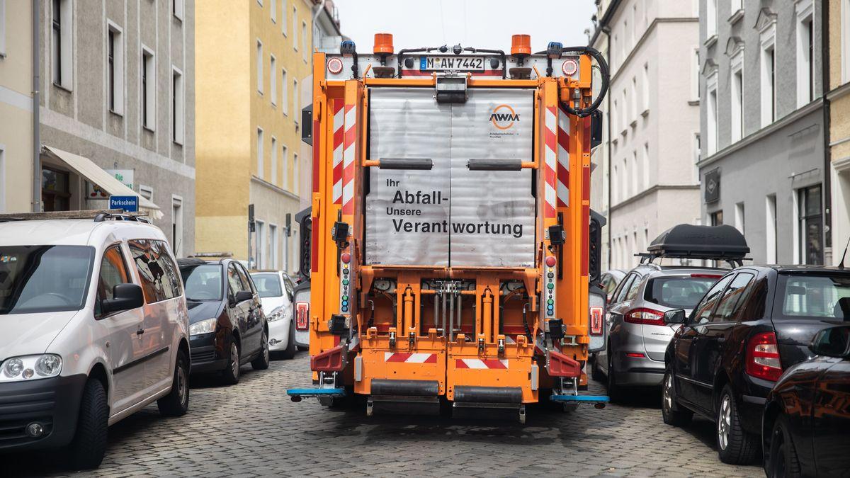 Müllabfuhr in München