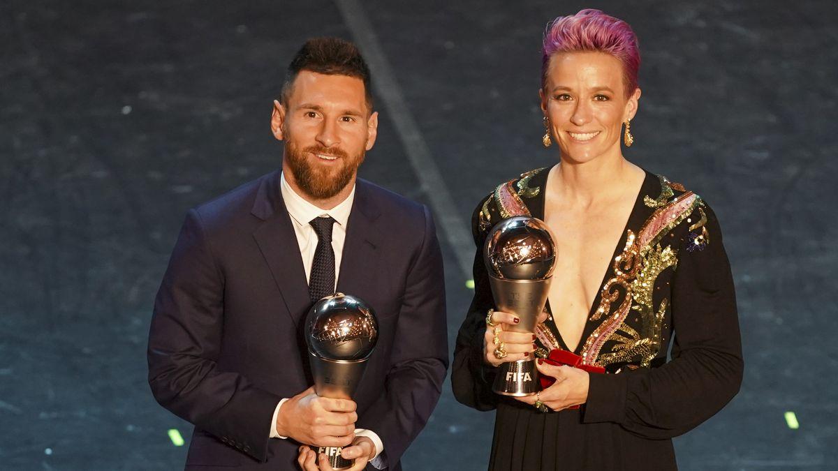Lionel Messi und Megan Rapinoe gewinnen den Ballon d'Or