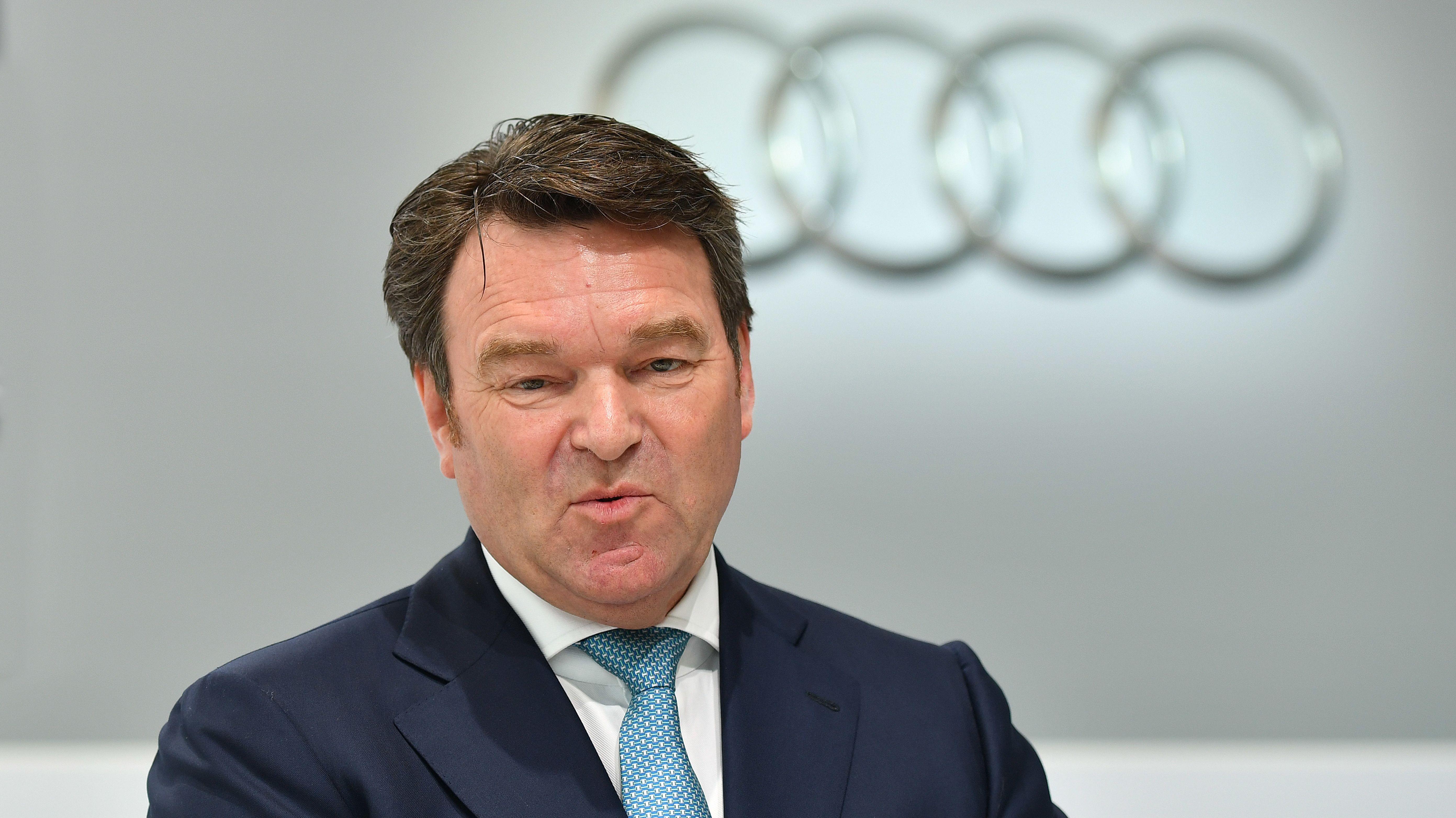 Der Audi-Vorstandsvorsitzende Bram Schot