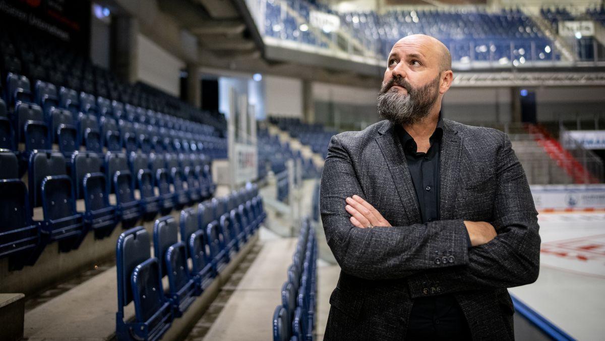 Ice-Tigers-Geschäftsführer Wolfgang Gastner
