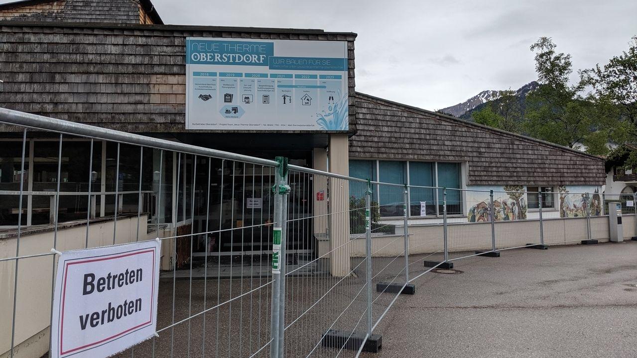Die Oberstdorf-Therme wird abgerissen