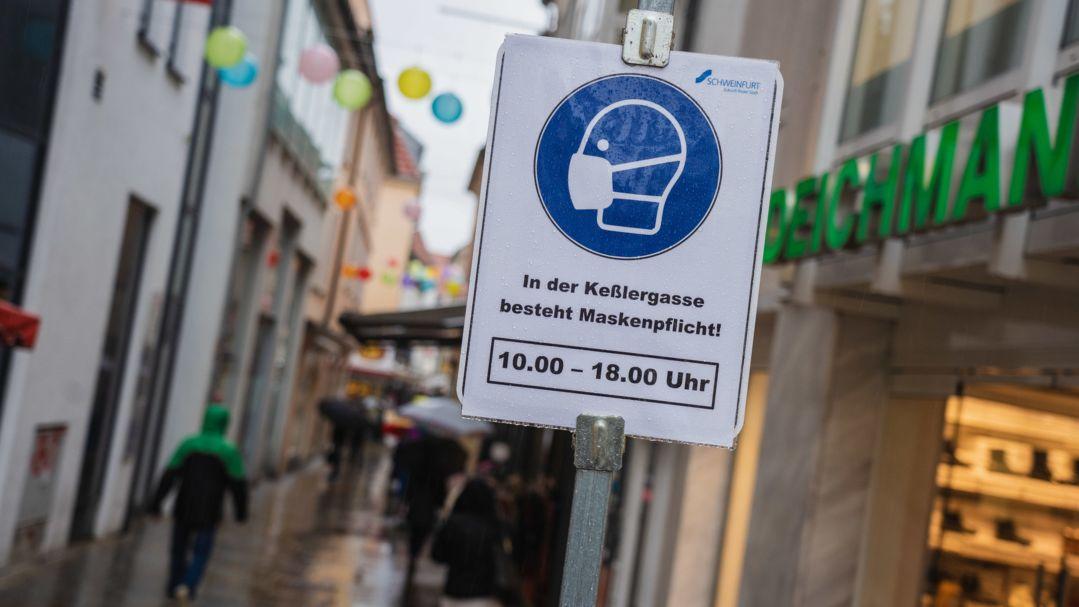 Die Stadt Schweinfurt hat aktuell eine der höchsten Sieben-Tage-Inzidenzen in ganz Deutschland.