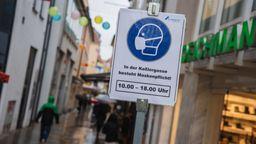 Die Stadt Schweinfurt hat aktuell eine der höchsten Sieben-Tage-Inzidenzen in ganz Deutschland. | Bild:dpa
