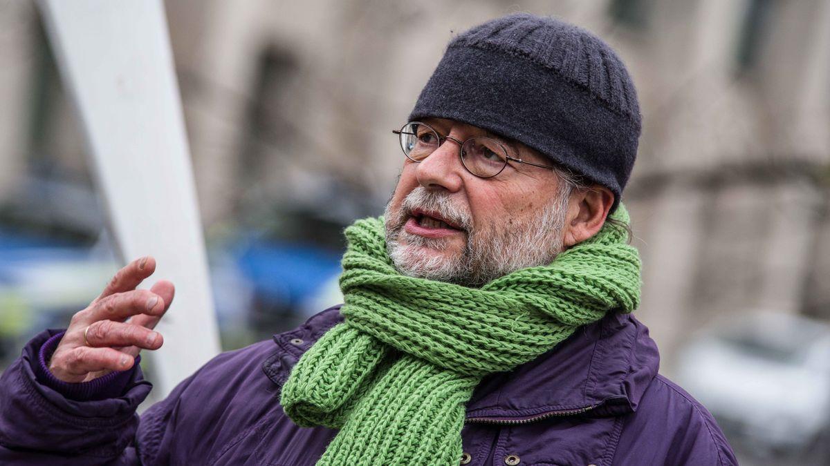 Eike Hallitzky im März in München