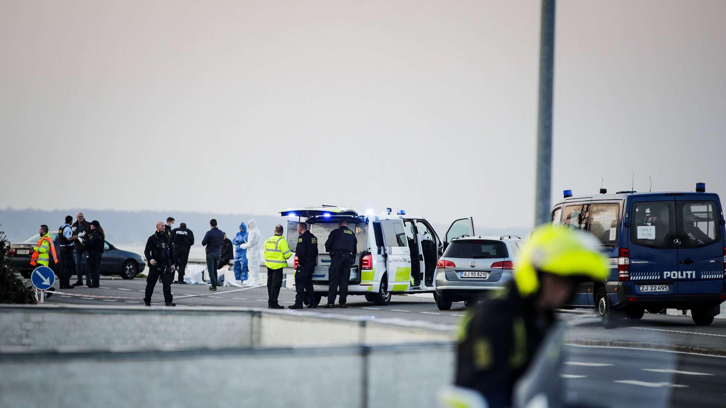 Polizeieinsatz bei Rungsted in Dänemark