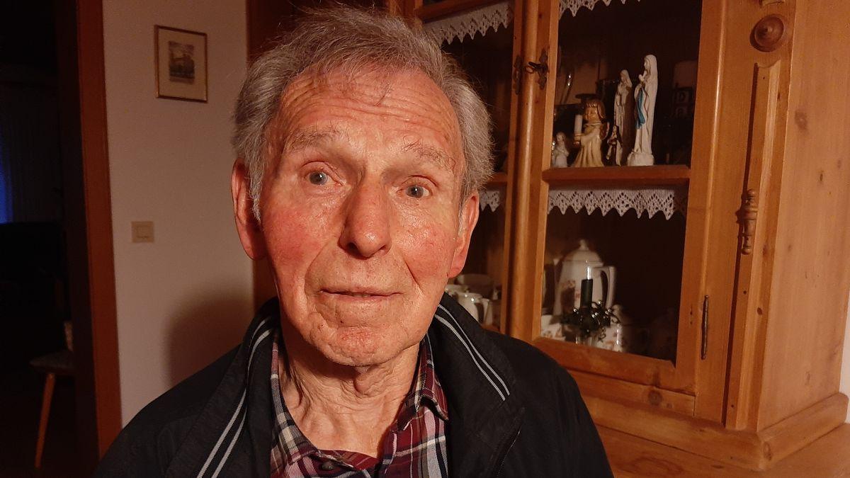 Hans Seefelder heute - als 15-Jähriger desertierte er im Zweiten Weltkrieg. Das hat ihm vermutlich das Leben gerettet.
