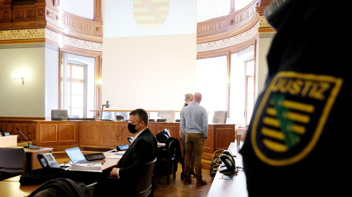 Der Gerichtssaal in Leipzig.