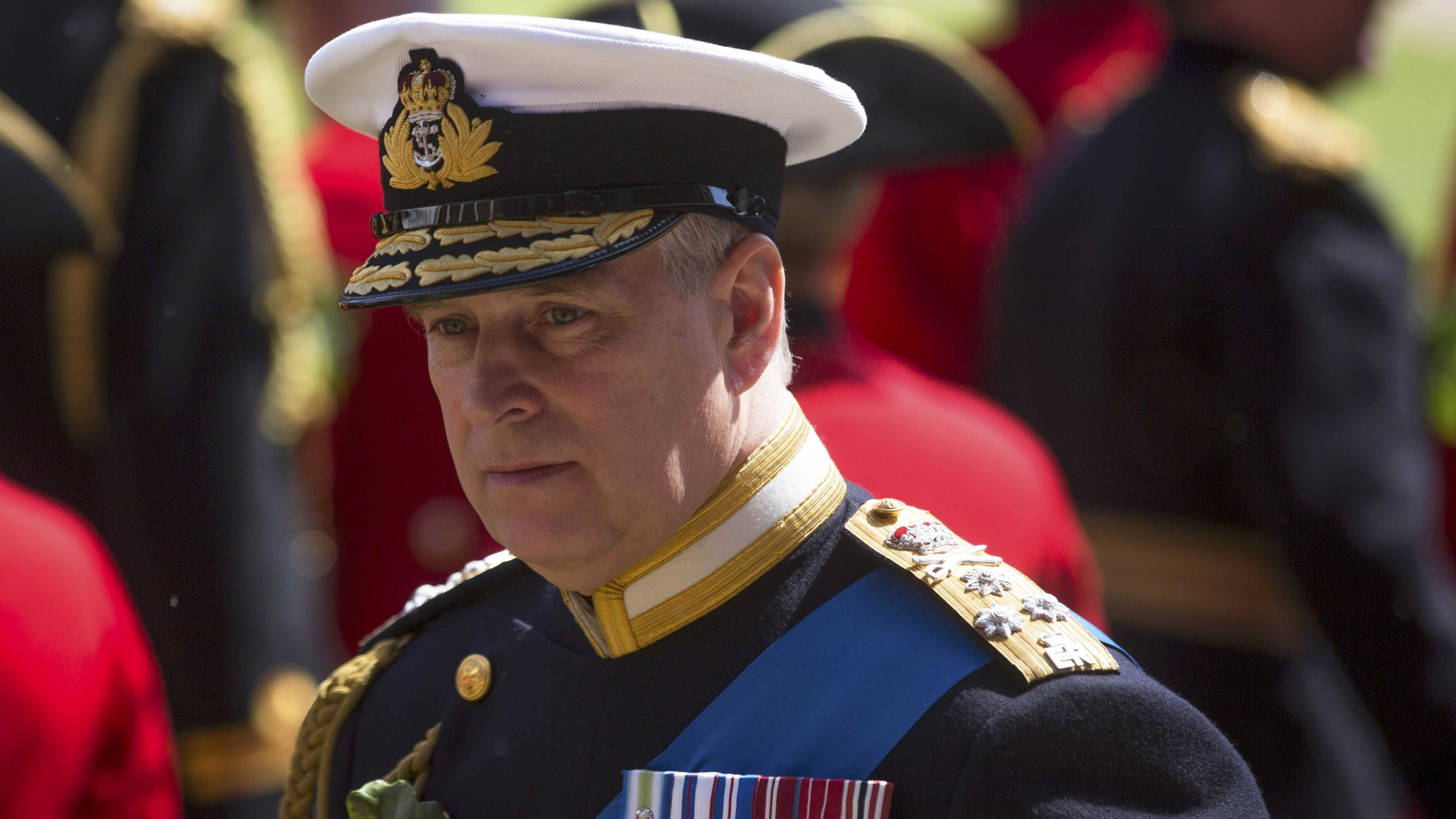 Der britische Prinz Andrew