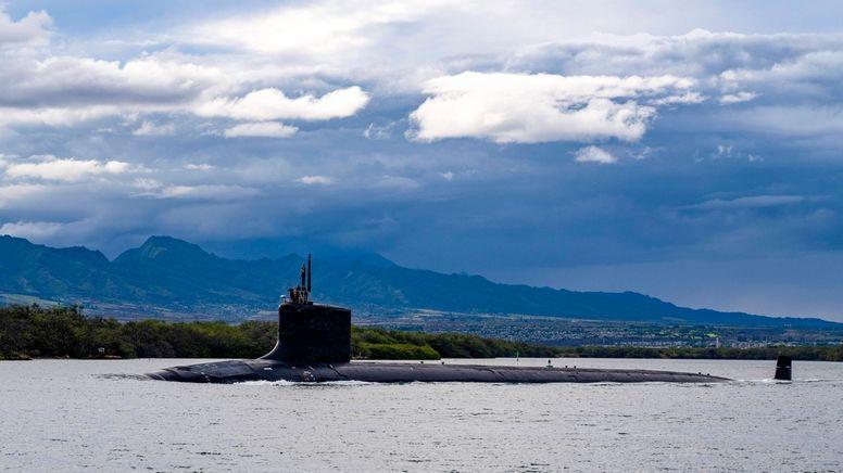 Atom-U-Boote für Australien - Pakt mit den USA sorgt für Zoff | Bild:dpa-Bildfunk/Chief Petty Officer Amanda Gray