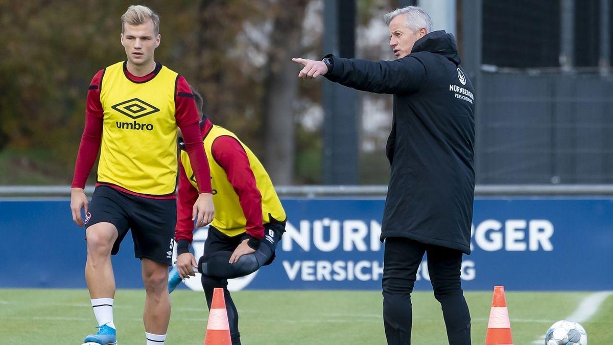 Training 1. FC Nürnberg