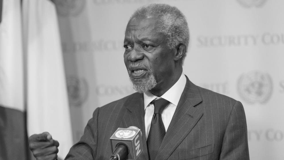 Kofi Annan | Bild:pa/dpa/Albin Lohr-Jones
