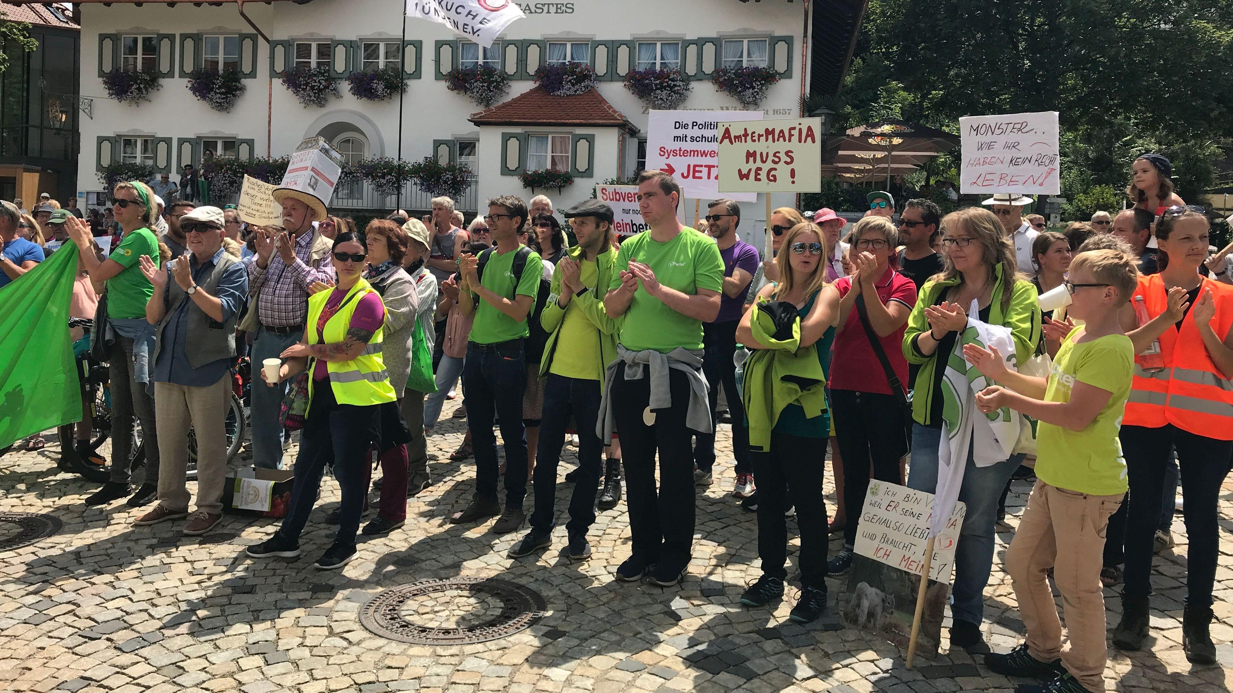 Tierschützer engagieren sich in Bad Grönenbach für das Tierwohl
