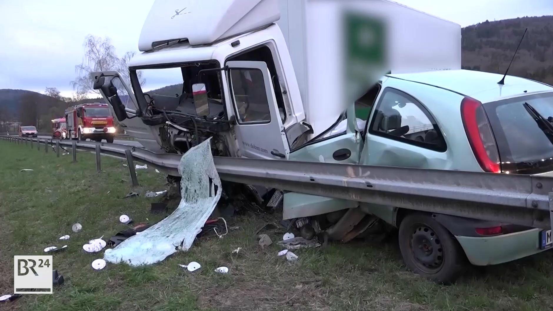 Verkehrsunfall bei Amorbach