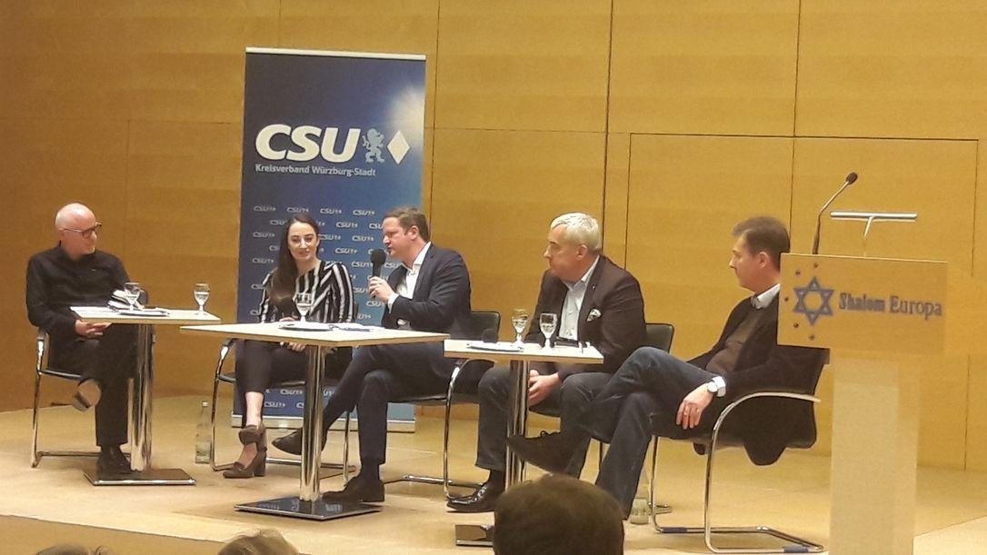 Podiumsdiskussion gegen Antisemitismus