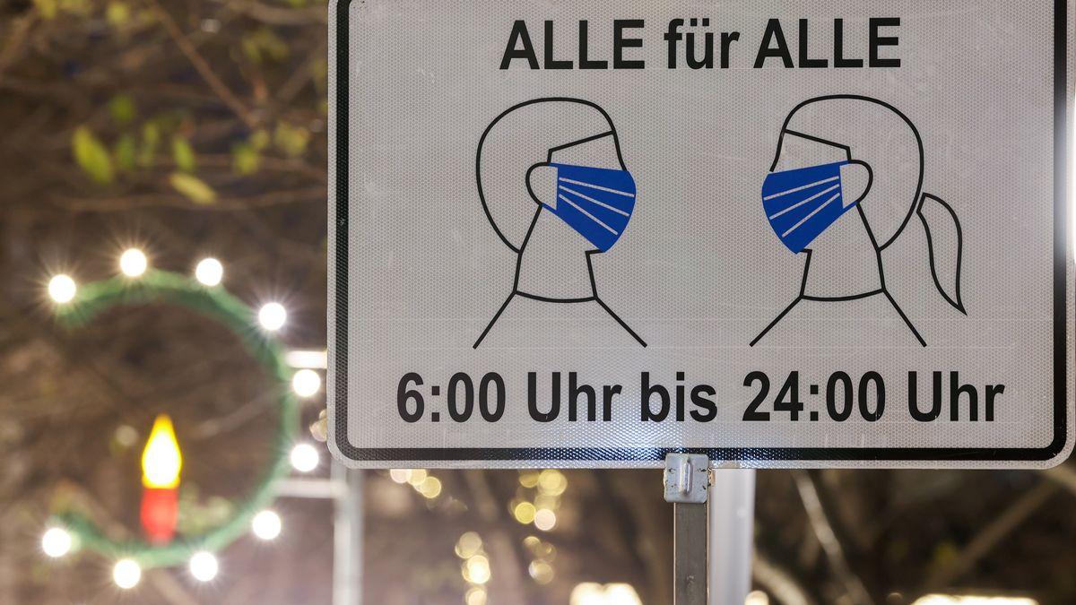 Maskentragepflicht in deutschen Innenstädten