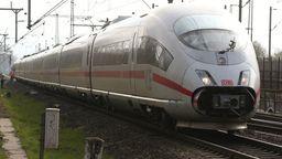 Symbolbild: ICE der Deutschen Bahn | Bild:David Young/dpa