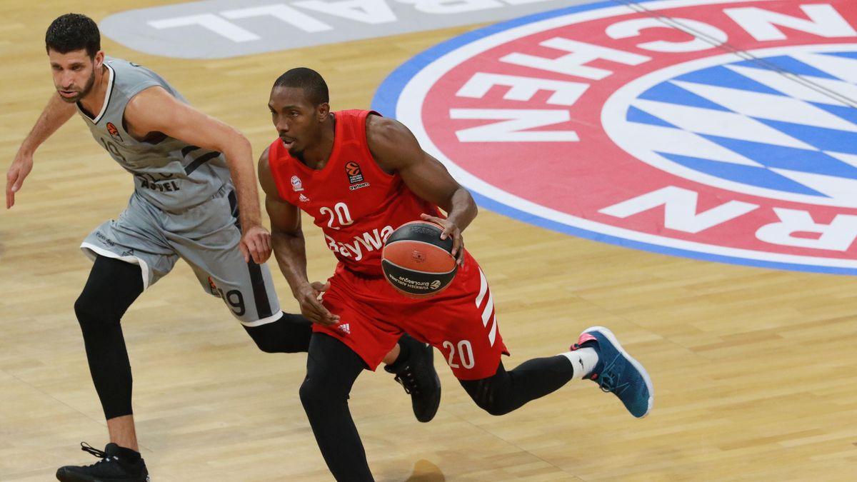 Spielszene FC Bayern Basketball -  Asvel Villeurbanne