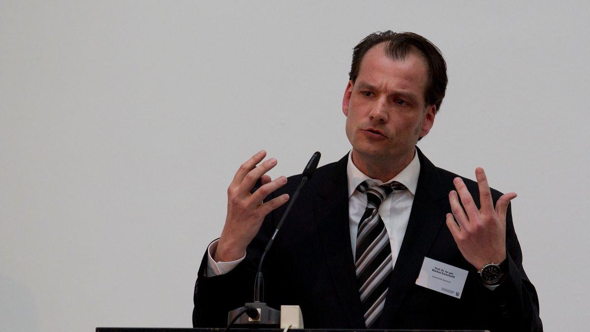 Markus Kurscheidt von der Uni Bayreuth