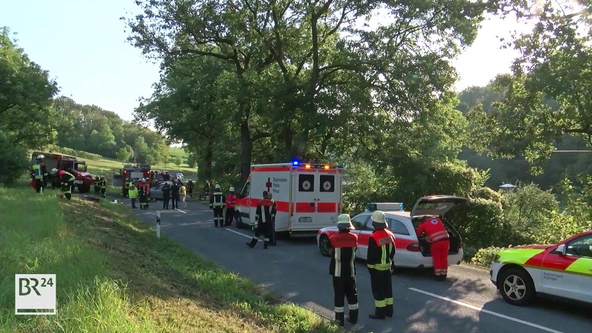 Tödlicher Verkerhsunfall bei Zeilitzheim
