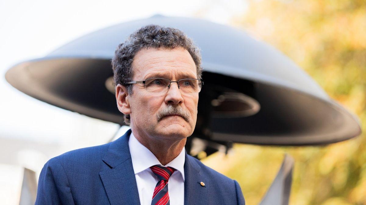 Der in die Kritik geratene Präsident des Bundesamtes für Bevölkerungsschutz und Katastrophenhilfe, Christoph Unger