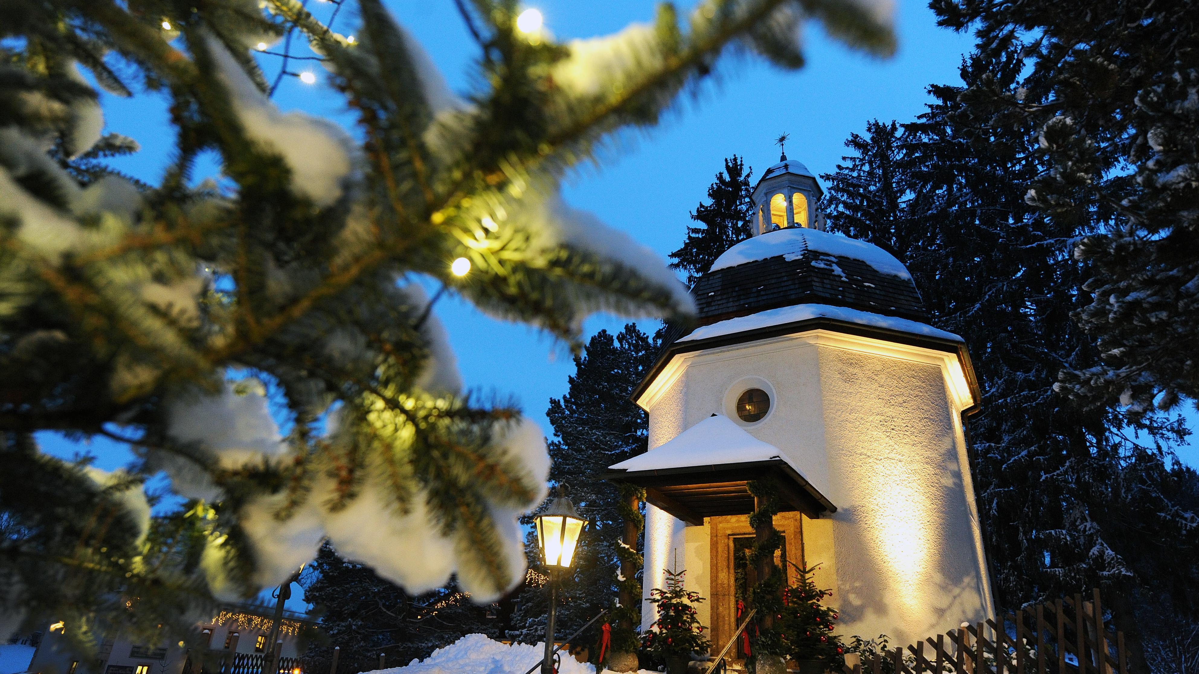 Die Stille Nacht-Kapelle in Oberndorf, am 23. November 2018