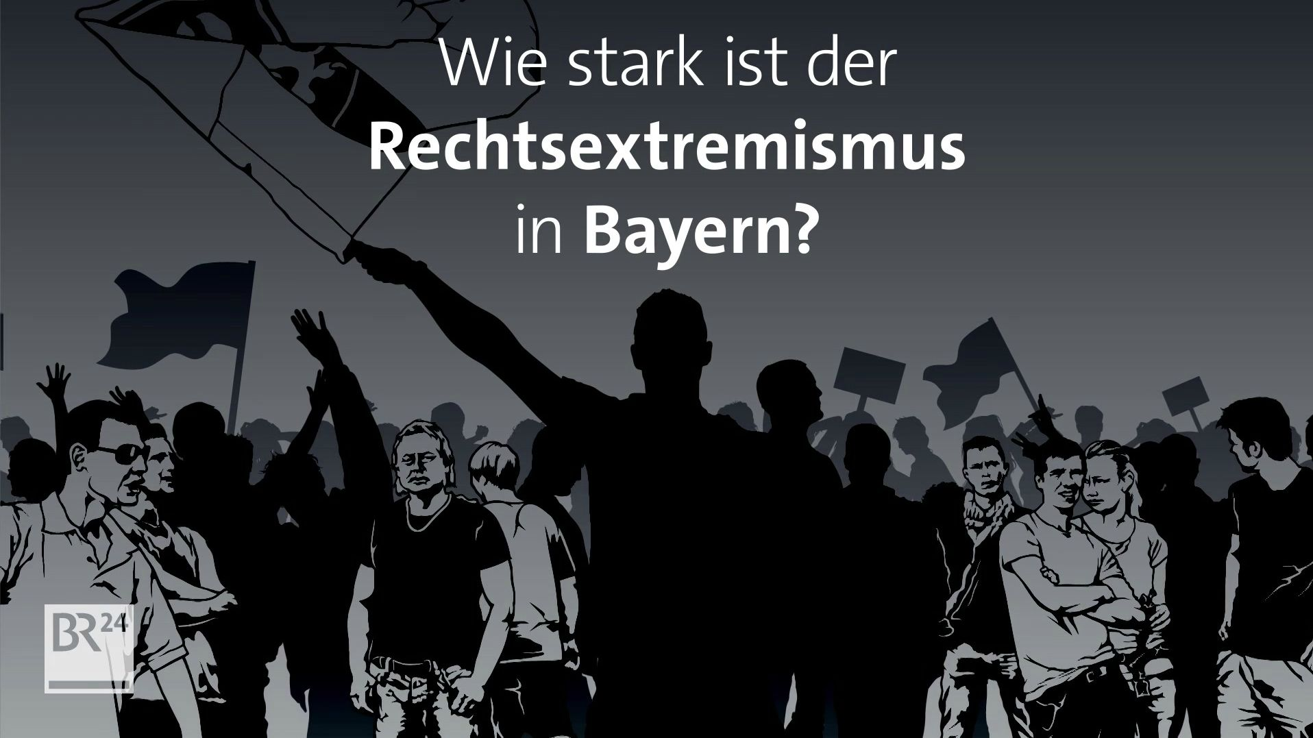 Rechtsextreme organisieren sich in Bayern zu Bürgerwehren.