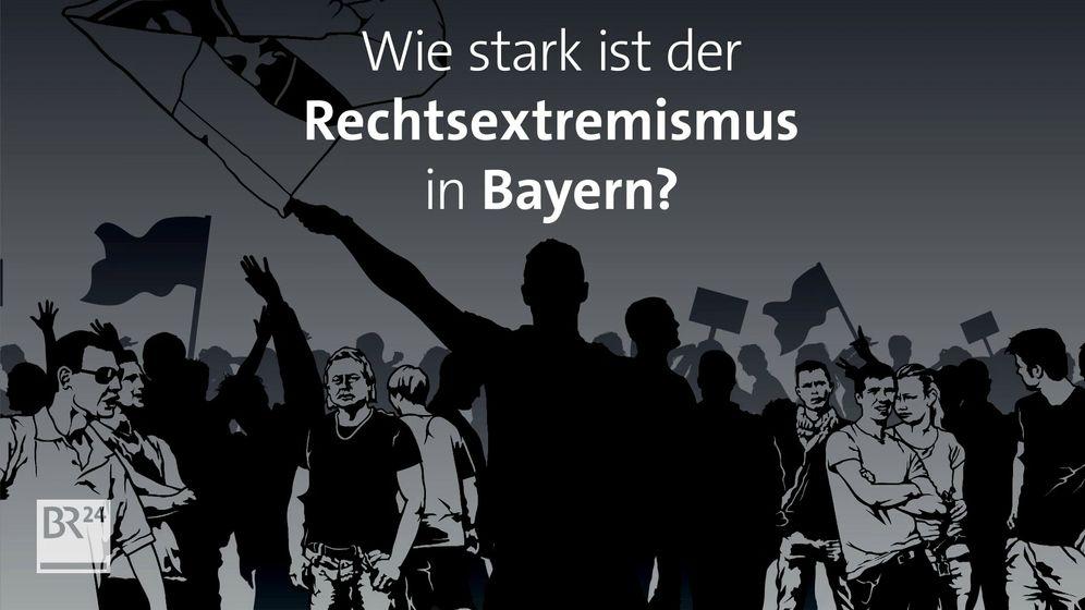 Rechtsextreme organisieren sich in Bayern zu Bürgerwehren. | Bild:BR24