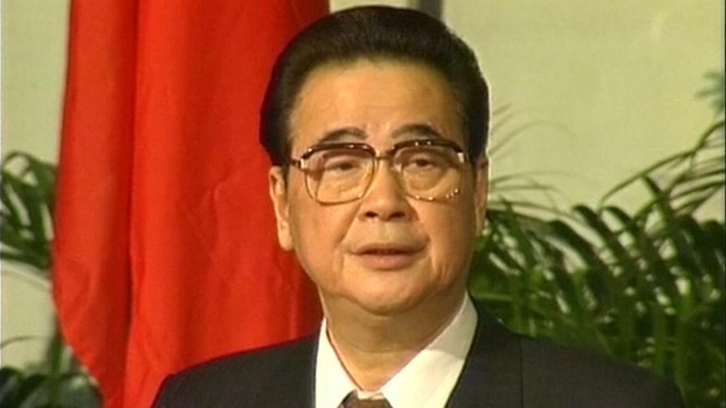 Chinas Ex-Premier Li Peng