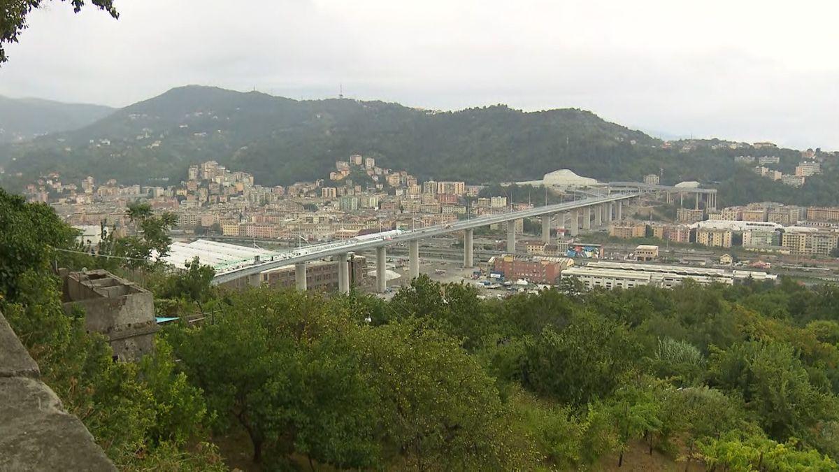 Neuanfang in Genua: Brücken-Eröffnung