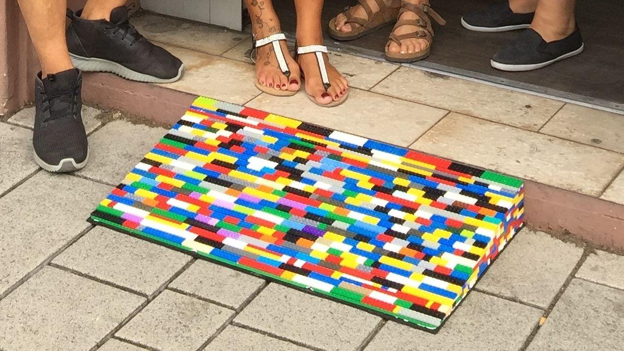 Legorampe aus einem Projekt in Hanau