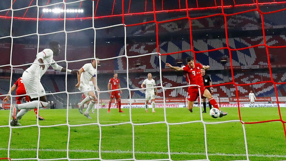 FC Bayern - Eintracht Frankfurt: Lewandowski trifft zum 2:1