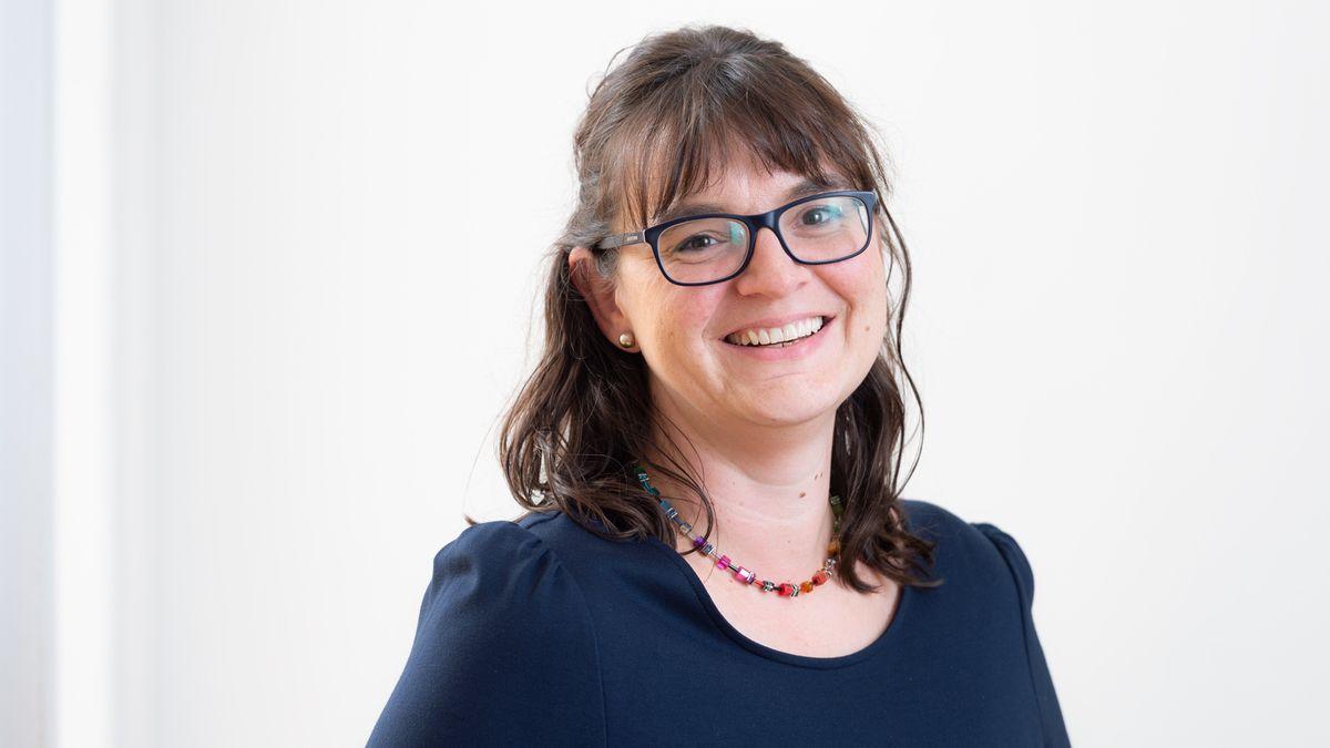 Die Oberpfälzer Bezirksvorsitzende des BLLV, Katja Meidenbauer