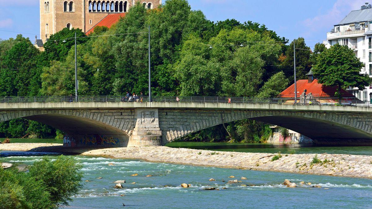 Isar an der Reichenbachbrücke