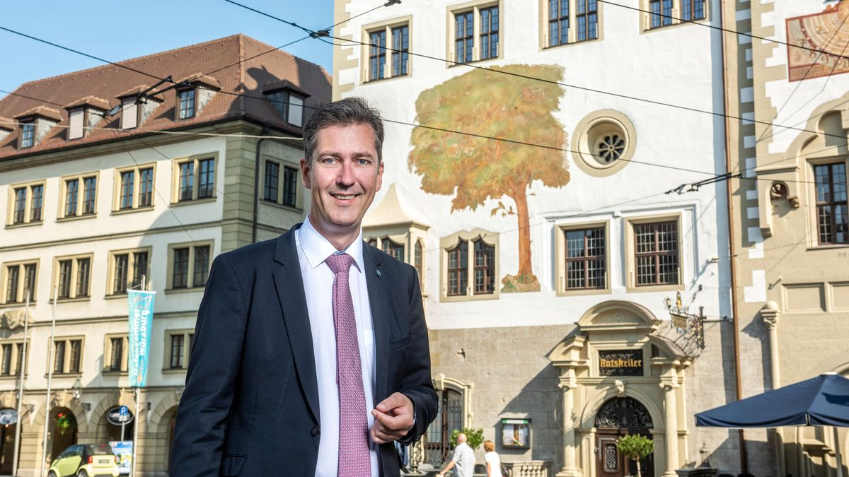 Würzburgs amtierender Oberbürgermeister Christian Schuchardt